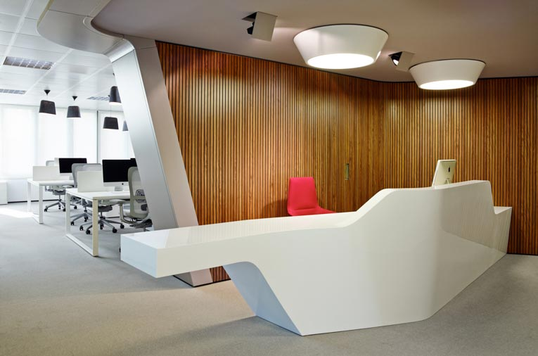 Corporate workspace design