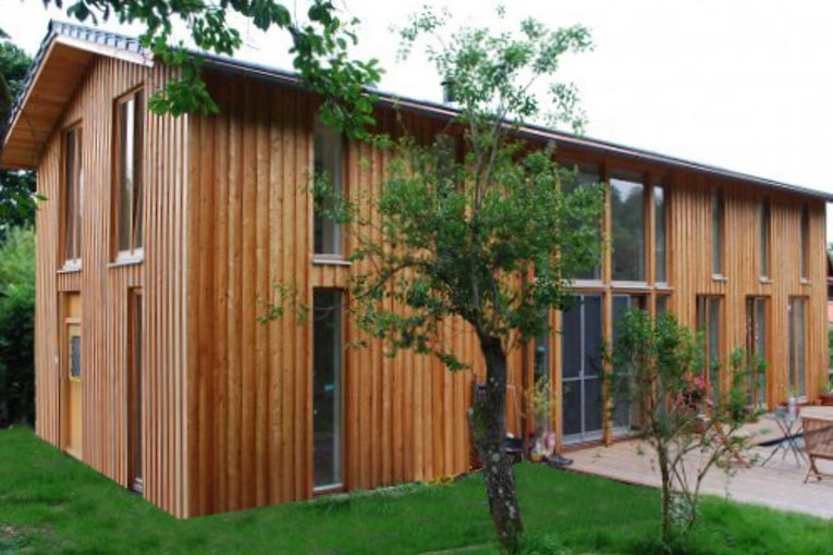 Sustainable timbre house