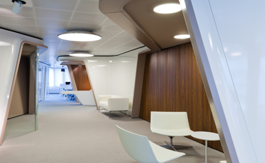 corporate office design barcelona Inaugure Hospitality Group