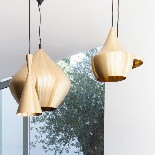 Set of magnificent suspended lamps