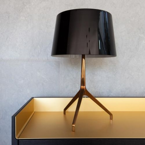 Gold and brass elements like this Lumiere XXL lamp