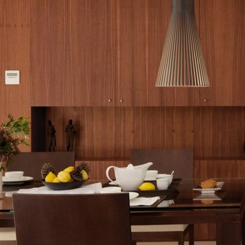 Secto suspended lamp over the dining table