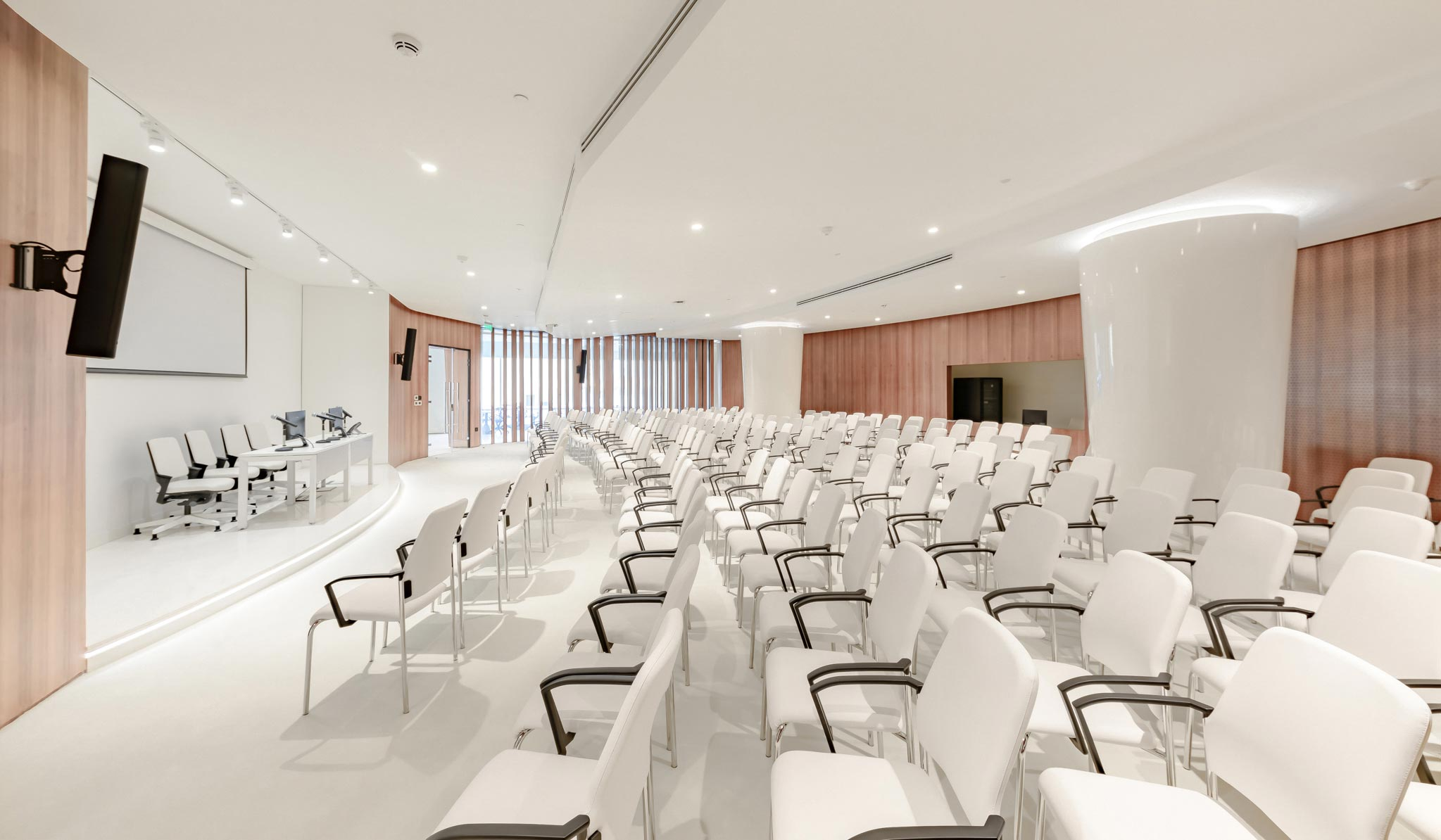 Edge Innovation Center , The Conference Center can seat up to 200,the Hall ,