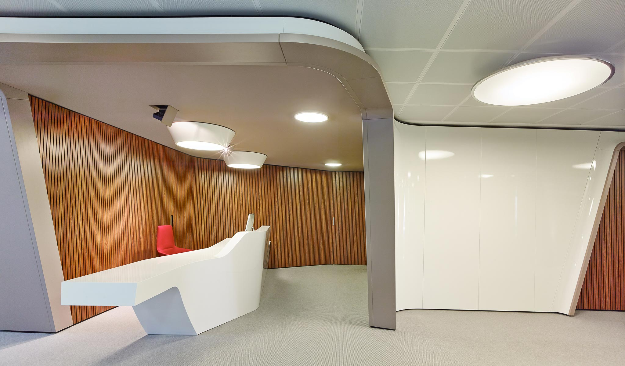 WE CREATE DISTINCTIVE CORPORATE ARCHITECTURE AND INTERIOR DESIGN