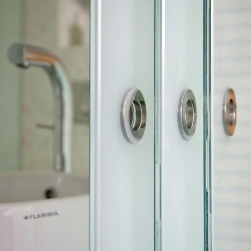 Bathroom glass sliding doors