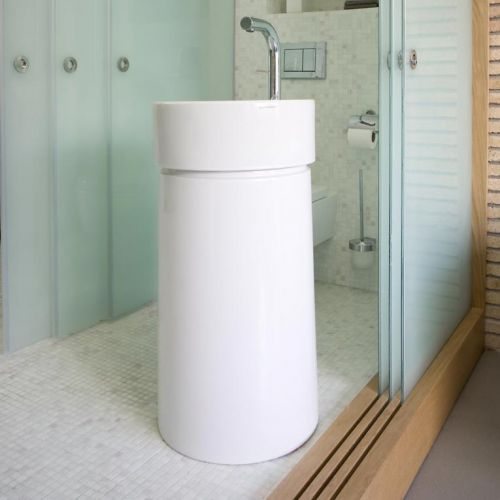 Twin Column washbasin