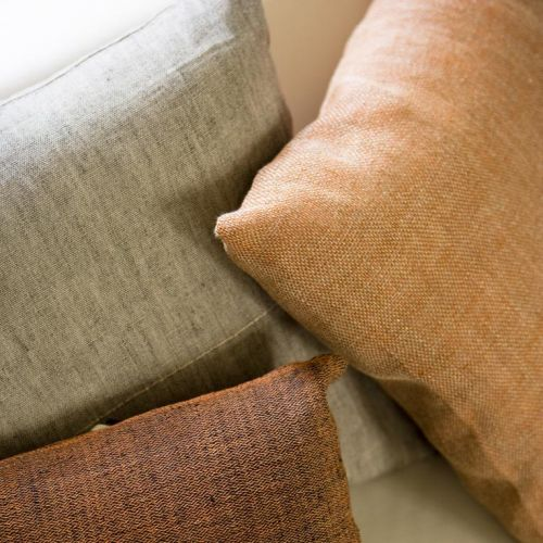 Warm and rich textured fabrics